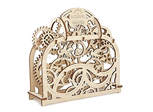Review Ugears Theater Mechanical 3D Puzzle Wooden Construction Set