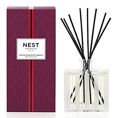 NEST Fragrances Reed Diffuser- Japanese Black Currant , 5.9 fl oz
