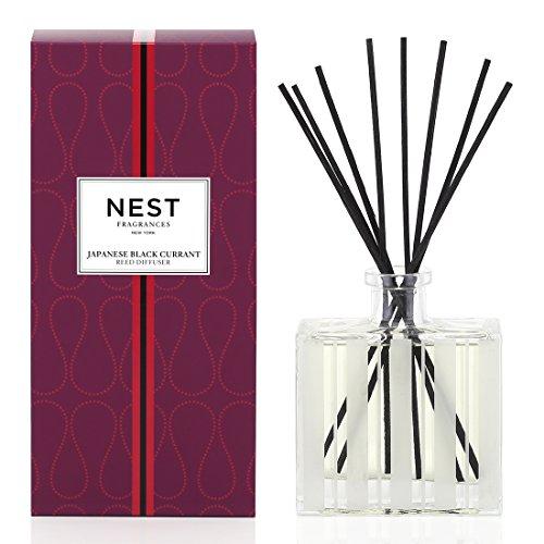 NEST Fragrances Reed Diffuser- Japanese Black Currant, 5.9 fl oz