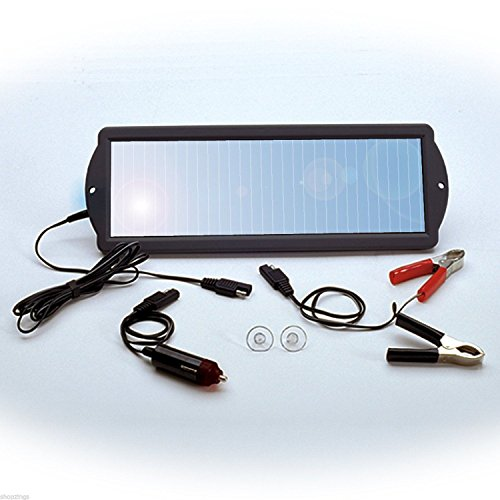 Solar Powered Motorcycle Battery Charger - 7