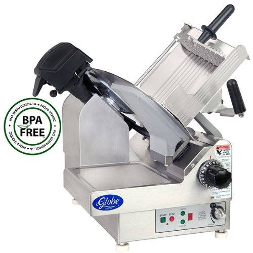 Globe Slicer 3975n Premium Meat Slicer 1/2 Hp 9 Speed Globe Products - 3975N