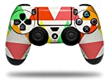 Triangles Citrus - Decal Style Wrap Skin fits Sony PS4 Dualshock Controller (CONTROLLER NOT INCLUDED) by WraptorSkinz
