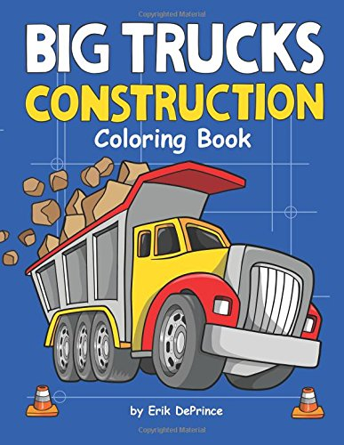 Big Trucks Construction Coloring (Construction Coloring Pages)