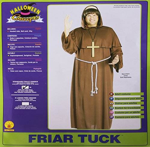 Friar Tuck Monk Costumes (Friar Tuck Adult Costume)