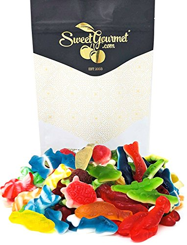 SweetGourmet Day At The Beach | Ocean Sea Critters | Gummy Candy Bulk | 15oz bag