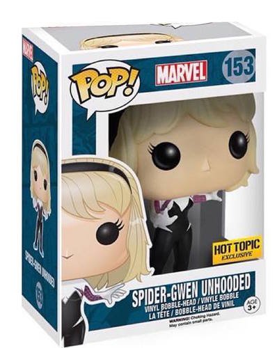 Price comparison product image Funko Pop! Marvel Spider-Gwen 153 (Unhooded Exclusive)