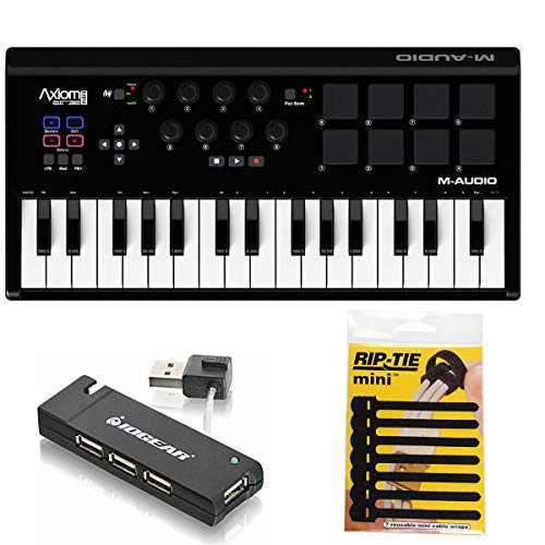 M-Audio Axiom AIR Mini 32 USB MIDI Keyboard + 4-Port for sale  Delivered anywhere in USA