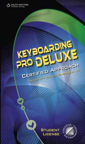 Keyboarding Pro Deluxe, Certified Version 1.3, Lessons 1-120 (with Individual Site License User Guide)