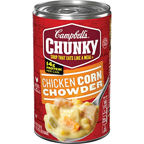 Campbell's Chunky Chicken Corn Chowder Soup,  18.8 oz. Can