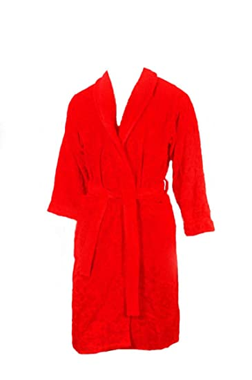 810eb043 Versace Men's Bathrobe Red Red: Amazon.co.uk: Clothing
