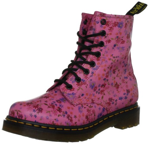Martens Acid Bottines Rouge Dr rose Femme 1460 Pink 1z14cP