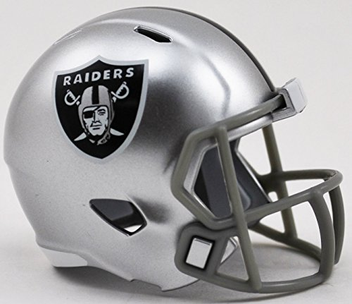 Riddell Oakland Raiders NFL Football Helmet Christmas Tree DIY Ornament