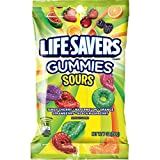 Life Savers Sours Gummies Candy Bag, 7 ounce (12 Packs) For Sale