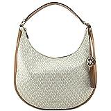 MICHAEL Michael Kors Lydia Logo Shoulder Bag, Color Vanilla