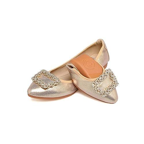 Calzado de Mujer Mocasines y Slip-Ons de Verano Zapatos de Conducción Zapatillas Zapatos Cómodos