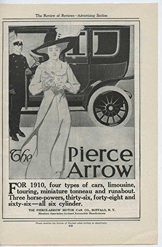 1910 Pierce Arrow Motor Car Buffalo NY Automobile Magazine Ad Gray Motor (Pierce Arrow Buffalo)