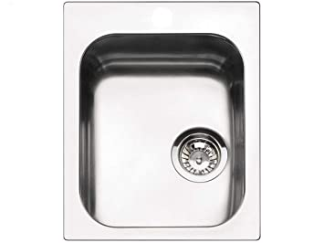 Smeg VS34/P3 Sink - Kitchen Sinks (Stainless Steel, 340 x 400 mm ...