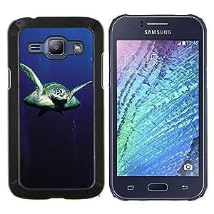EJOOY---Cubierta de la caja de protección para la piel dura ** Samsung Galaxy J1 J100 ** --Tortuga Sear