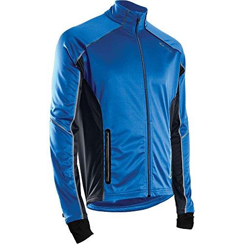 Sugoi Men's Firewall 180 Jacket, Large, True Blue/Coal Blue