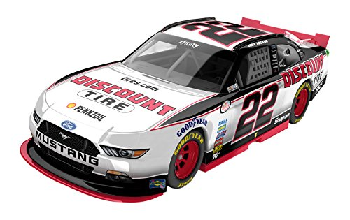 lionel-racing-joey-logano-22-discount-tire-2016-ford-mustang-nascar-diecast-car-164-scale