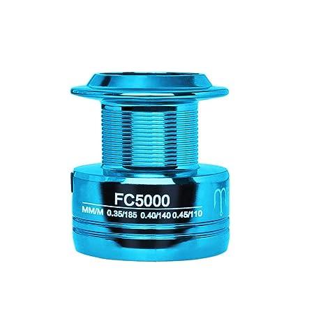 AimdonR Angelrolle,FC1000-6000 spinnende Angelrolle Aluminiumrahmen Licht und Glatte Angelrolle