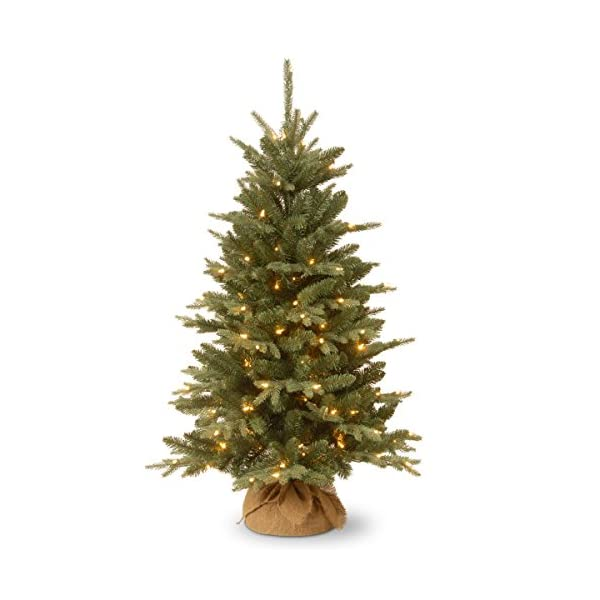 National-Tree-4-Foot-Burlap-Tree-with-150-Clear-Lights-ED3-300-40
