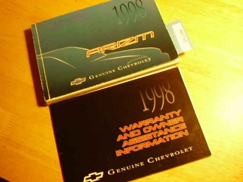 1998 Chevy Chevrolet Prizm Owners Manual
