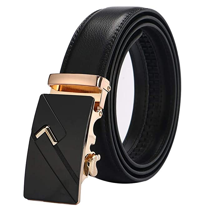 leather strap male automatic buckle belts for men authentic girdle trend mens belts ceinture Fashion designer women jean belt,Silver21,120cm