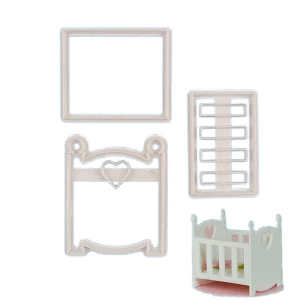 Slendima s A Boy/Girl Letters - Molde para galletas de galletas para decoración de baby shower, 3 tipos disponibles: Amazon.es: Hogar