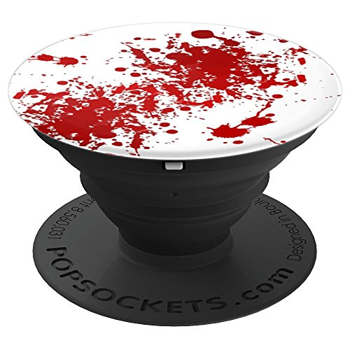 Bloody Good Fake Blood Splatter PopSocket - PopSockets Grip and Stand for Phones and Tablets ()