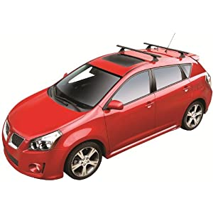 "ROLA 59722 47"" Removable Anchor Point Extended APE Series Roof Rack for Pontiac Vibe, Toyota Matrix"