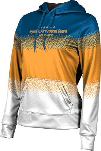 Girls' Wyoming Air National Guard Military Drip Hoodie Sweatshirt (Apparel)