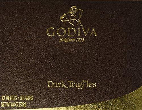 Godiva Dark Chocolate Truffles Gift Box ()