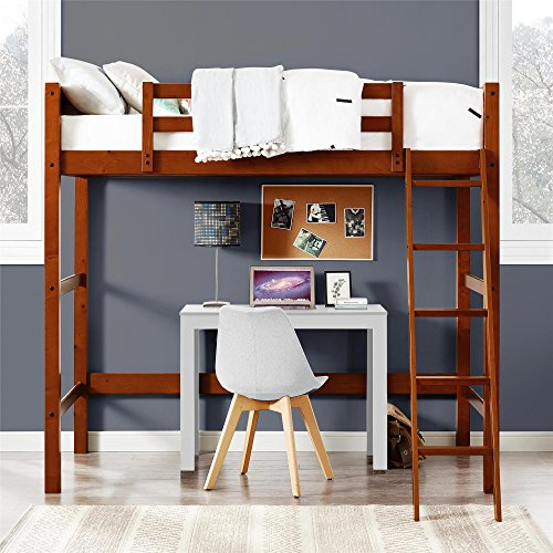 Dorel Living DL2906WN-DC Moon Bay Loft Bed, Twin, Walnut