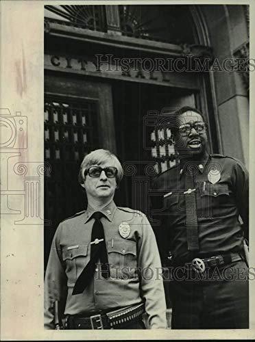 Vintage Photos 1980 Press Photo Albany, NY City Marshals Edwin Marshall & Edmond Eversten Jr