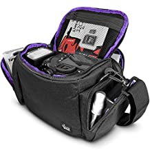 Camera Bag Case by Altura Photo for DSLR, Mirrorless, Compact Cameras and Lenses (Padded Shoulder Travel Bag)