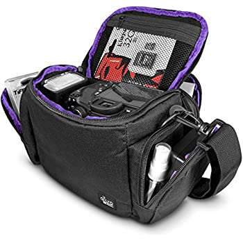 Amazon.com : AmazonBasics Large DSLR Gadget Bag (Orange interior ...