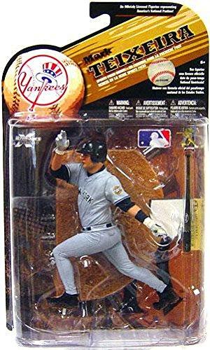 McFarlane Toys MLB Sports Picks Series 25 [2009 Wave 2] Action Figure Mark Teixeira (New York Yankees) Grey Uniform Variant (Wave Mlb 2009)