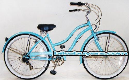 "Micargi Pantera 7-speed 26"" for Women , Beach Cruiser Bike S"
