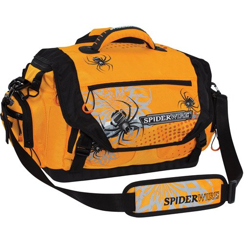 Spiderwire Soft-Sided Tackle Bag, Orange by Spiderwire