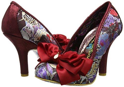 AscotEscarpins Fermé Bout Choice Femme Irregular Rougered Multi 6bgY7yfv