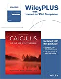 Calculus: Single and Multivariable, 7th Edition WileyPLUS Registration Card + Loose-leaf Print Companion