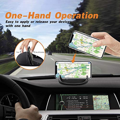 Loncaster Car Phone Holder Car Phone Mount Silicone Car Pad Mat for Various Dashboards AntiSlip Desk