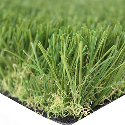Olivo Tappeti Synthetic Grass 30mm Artificial Grass Garden Rug Wide 1Mt x 4 Meters Linear