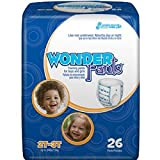 WonderPants Training Pant for Boys and Girls, Medium 2T-3T - Case of 104
