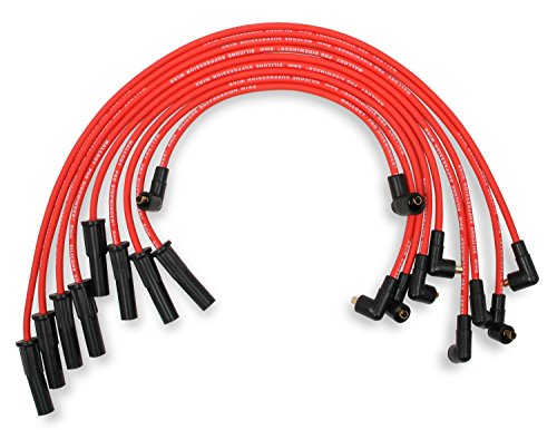 Mallory 602 Pro Wire Set 8mm Red Silicone Jacket Black Plug Boots Pro Wire Set