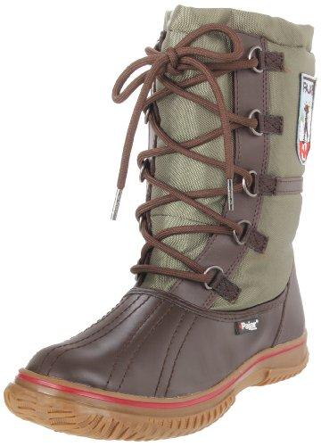 Pajar Womens Grepp Skolett Mörkbrun / Militärgrön