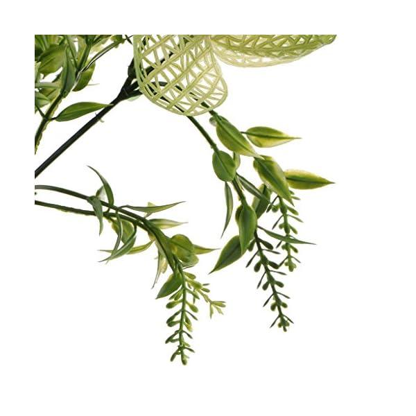 Homyl-Bunch-Artificial-Plants-Seaweed-Garden-Wedding-Decor-PhalaenopsisVine-Persian-GrassPerilla-LeavesStaghorn-FernSago-Cycas-LeavesAir-Grass