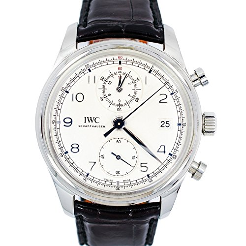 IWC Portuguese automatic-self-wind mens Watch IW390403 (Certified Pre-owned)