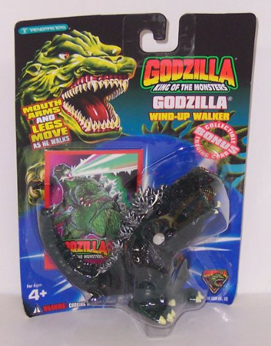 (Godzilla King of the Monsters Wind-up Walker Action Figure )